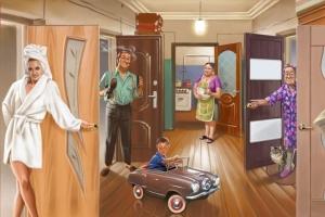 Особенности продажи коммунальных квартир
