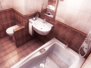 Совмещение ванной и туалета в панельном доме
