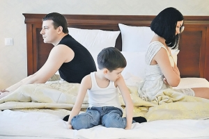Снятие с учета вместе с ребенком