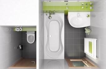 Как разделить санузел на ванну и туалет?